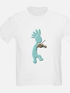 Kokopelli Fiddle T-Shirt