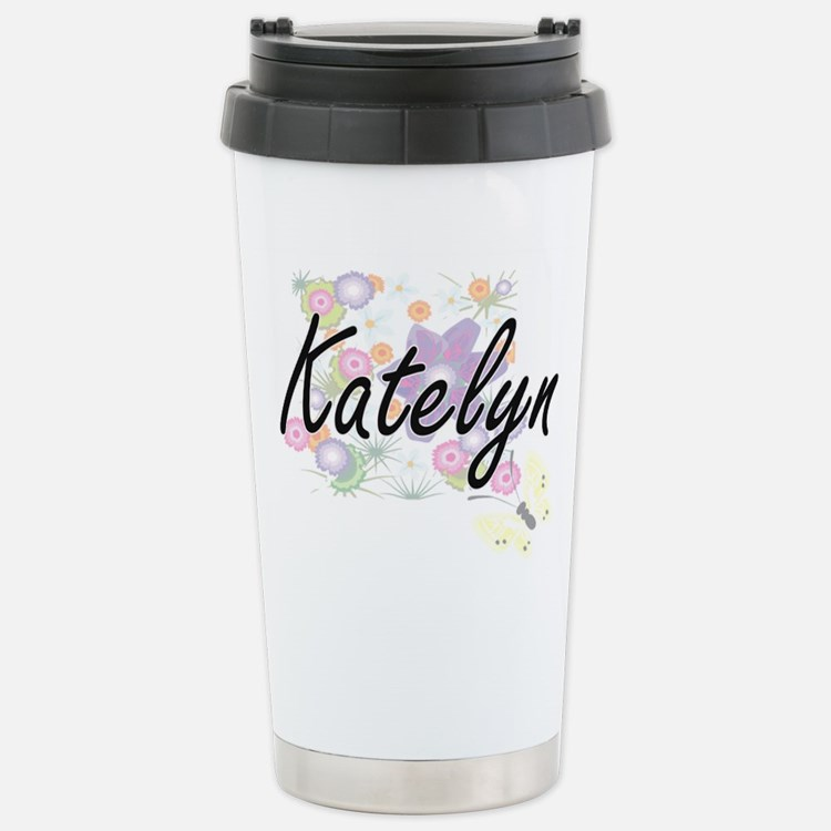 Katelyn Artistic Name D Travel Mug