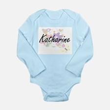 Katharine Artistic Name Design with Flow Body Suit