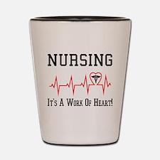 nursing Shot Glass