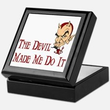 Devil made me do it Keepsake Box