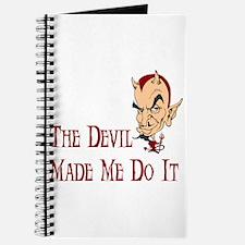 Devil made me do it Journal
