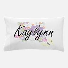 Kaylynn Artistic Name Design with Flow Pillow Case