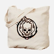 Ghost Rider Logo Tote Bag