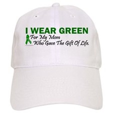 Green For Mom Organ Donor Donation Baseball Cap