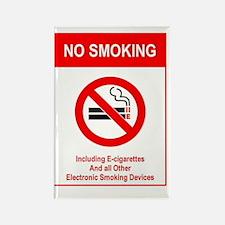 Funny No smoking Rectangle Magnet