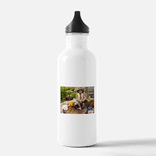 Contented gardener Water Bottle