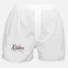Kierra Artistic Name Design with Flow Boxer Shorts