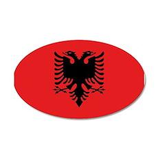 Albania Flag Wall Decal