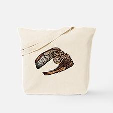Eagle Owl Natural L Tote Bag