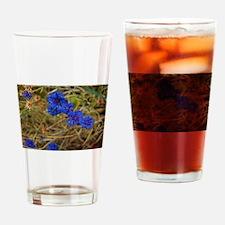 Cornflowers Drinking Glass