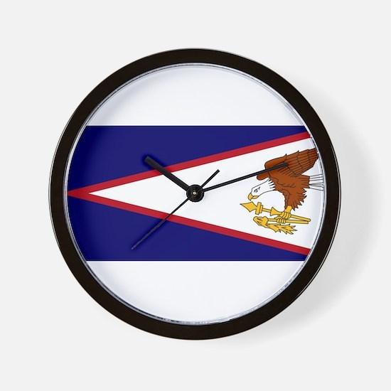 American Samoa Coat Arms Clocks  American Samoa Coat Arms Wall