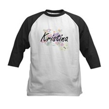Kristina Artistic Name Design with Baseball Jersey