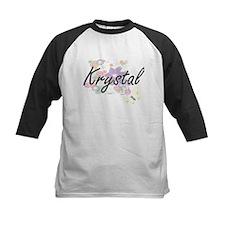 Krystal Artistic Name Design with Baseball Jersey