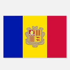 Andorra Flag Postcards (Package of 8)
