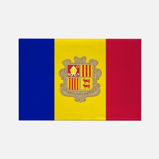 Andorra Flag Magnets