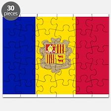 Andorra Flag Puzzle