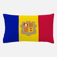 Andorra Flag Pillow Case