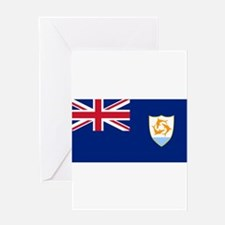 Anguilla Flag Greeting Cards