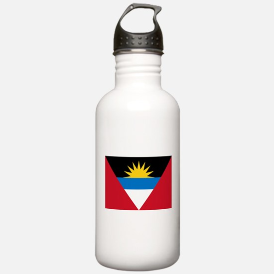 Antigua and Barbuda Flag Water Bottle