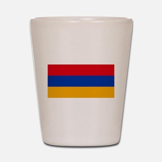 Armenia Flag Shot Glass