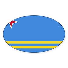 Aruba Flag Decal