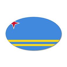 Aruba Flag Wall Decal