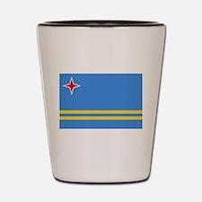Aruba Flag Shot Glass