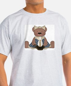 Teddy Bear With Vintage Lamp T-Shirt