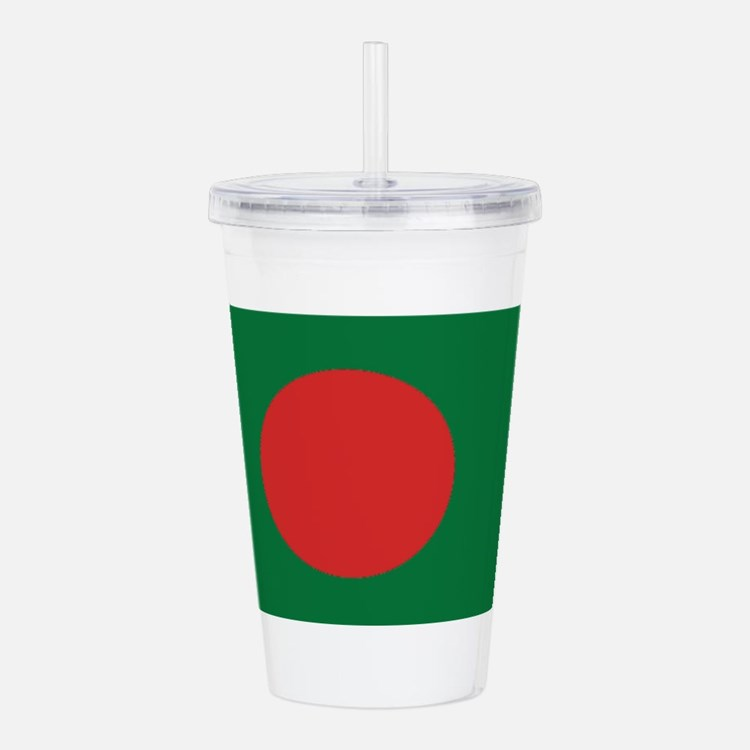 Bangladesh Flag Acrylic Double-wall Tumbler