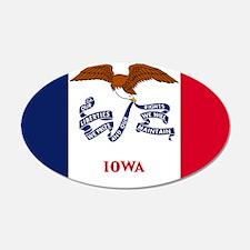 Iowa State Flag Wall Decal