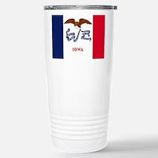 Iowa State Flag Travel Mug