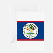 Belize Flag Greeting Cards