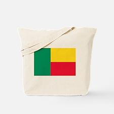 Benin Flag Tote Bag