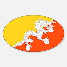 Bhutan Flag Decal