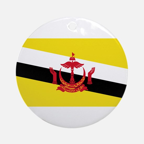 Brunei Flag Round Ornament