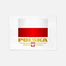 Flag of Poland 5'x7'Area Rug