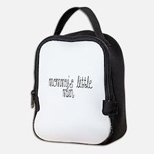 mommy's little man Neoprene Lunch Bag