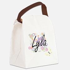 Cute Lyla Canvas Lunch Bag