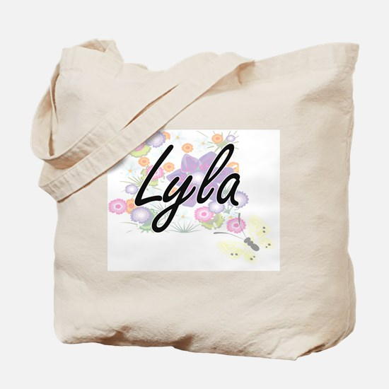 Cute Lyla Tote Bag