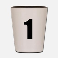 Number 1 Shot Glass