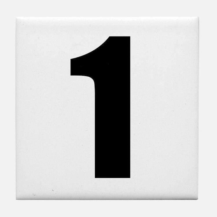 Number 1 Tile Coaster