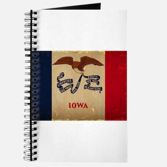 Iowa State Flag VINTAGE Journal