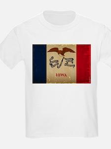 Iowa State Flag VINTAGE T-Shirt