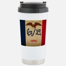 Iowa State Flag VINTAGE Travel Mug