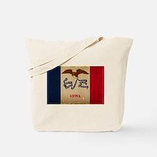 Iowa State Flag VINTAGE Tote Bag