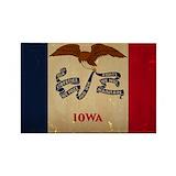 Iowa flag 10 Pack