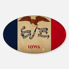 Iowa State Flag VINTAGE Stickers