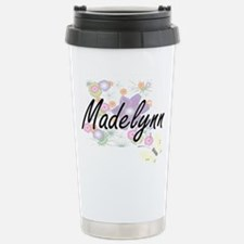 Madelynn Artistic Name Travel Mug