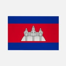 Cambodia Flag Magnets